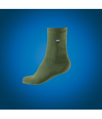 KE252 Sealskinz Mid Thermal Sock Olive